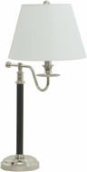House of Troy B551-BPN Bennington Black with Polished Nickel Lighting Table Lamp