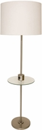 House of Troy BR102-SN Brandon Satin Nickel Floor Light