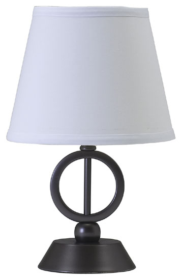 House Of Troy Ch875ob Coach Phi Accent Table Lamp In Oil