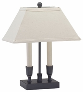 House of Troy CH880OB Coach Two Light Accent Table Lamp in Oil Rubbed Bronze