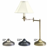 House of Troy CL251 Club Table Swing Arm Lamp