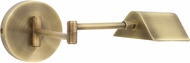 House of Troy D175-AB Delta Antique Brass LED Wall Swing Arm Lamp