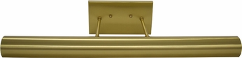 House of Troy DCLEDZ24-51 Classic Contemporary Satin Brass LED 24 Art Lamp