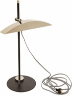 House of Troy DSK500-BLKPN DSK Modern Black with Polished Nickel LED Desk Lamp