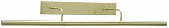 House of Troy DSL Direct Wire Slim-Line Picture Light in Satin Brass (14 inch - 36 inch)