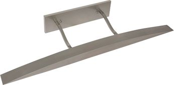 House of Troy DUW36-52 Ultra-Wide Satin Nickel Painting Light Fixture