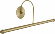 House of Troy DXLEDZ30-51 Slim-line Satin Brass LED 30  Art Lighting Fixture