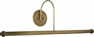 House of Troy DXLEDZ30-71 Slim-line Antique Brass LED 30  Picture Light