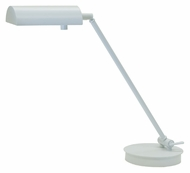 House of Troy G150-WT Generation White Adjustable Transitional Desk Lamp - 11 Inches Tall