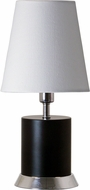 House of Troy GEO310 Geo Black Matte w/ Chrome Accents Accent Light