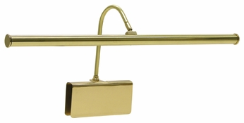 House of Troy GPLED1961 House of Troy Thin Clamping LED Grand Piano Lamp in Polished Brass