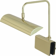 House of Troy GPZLEDZ12-61 Zenith Polished Brass LED Piano Light