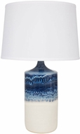 House of Troy GS110-DWM Scatchard Decorated White Matte Table Lighting