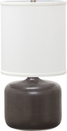 House of Troy GS120-BM Scatchard Black Matte Side Table Lamp