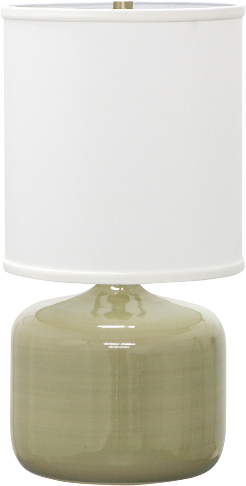 House Of Troy Gs120 Cg Scatchard Celadon Table Lamp Hot