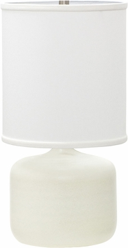 House of Troy GS120-WM Scatchard White Matte Lighting Table Lamp