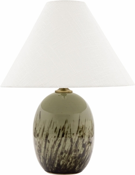 House of Troy GS140-DCG Scatchard Decorated Celadon Table Lamp Lighting