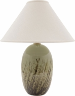 House of Troy GS150-DCG Scatchard Decorated Celadon Side Table Lamp
