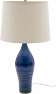House of Troy GS170-BG Scatchard Blue Gloss Table Light
