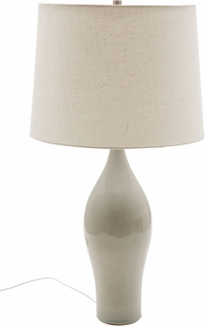 House of Troy GS170-GG Scatchard Gray Gloss Table Lamp Lighting