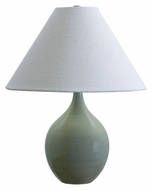 House of Troy GS200-CG Scatchard Stoneware Celedon Finish 19 Inch Tall Table Lamp Lighting