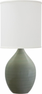 House of Troy GS201-CG Scatchard Celadon Side Table Lamp