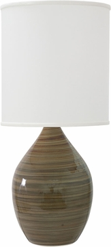 House of Troy GS201-TE Scatchard Tigers Eye Table Top Lamp