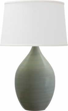 House of Troy GS202-CG Scatchard Celadon Table Lighting