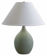 House of Troy GS300-CG Scatchard Celedon Finish 22 Inch Tall Stoneware Table Top Lamp
