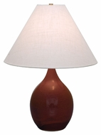 House of Troy GS300-CR Scatchard Copper Red Finish 23.5  Tall Lighting Table Lamp