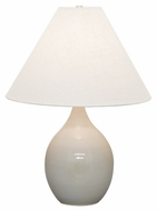 House of Troy GS300-GG Scatchard Gray Gloss Finish 23.5  Tall Table Top Lamp