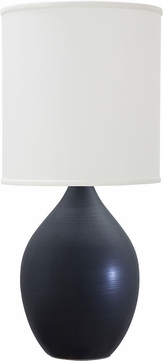 House of Troy GS301-BM Scatchard Black Matte Table Lamp Lighting