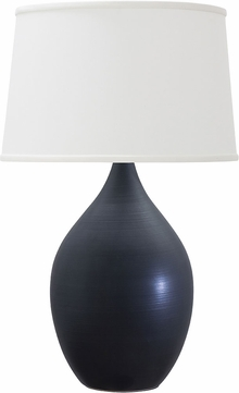 House of Troy GS302-BM Scatchard Black Matte Table Lamp