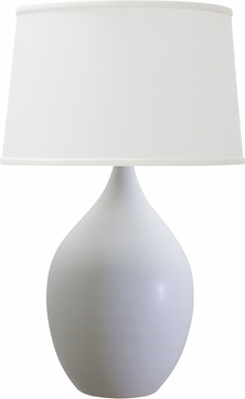 House of Troy GS302-WM Scatchard White Matte Table Light