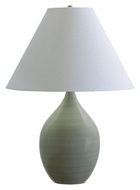 House of Troy GS400-CG Scatchard Large Celedon Finish 28 Inch Tall Transitional Table Lighting