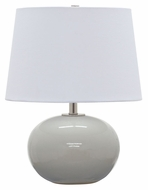 House of Troy GS600-GG Scatchard Gray Gloss Finish 17  Tall Table Top Lamp
