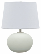 House of Troy GS600-WM Scatchard White Matte Finish 12  Wide Table Lamp