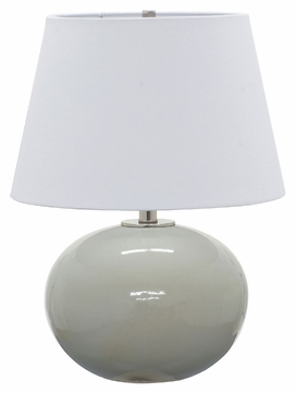 House of Troy GS700-GG Scatchard Gray Gloss Finish 22 Tall Lighting Table Lamp
