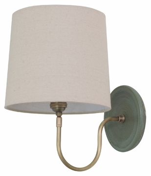 House of Troy GS725-GM Scatchard Green Matte Finish 13.5  Tall Wall Lighting