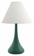 House of Troy GS801-SA Scatchard Sage Finish Narrow Body 26 Inch Tall Stoneware Table Top Lamp