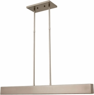 House of Troy HORP28-SN Horizon Satin Nickel LED 28  Kitchen Island Light