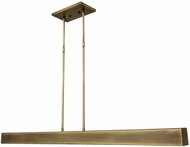 House of Troy HORP42-AB Horizon Antique Brass LED 42  Island Light Fixture