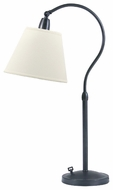 House of Troy HP750 Hyde Park Desk Lamp with Off-White Linen Shade