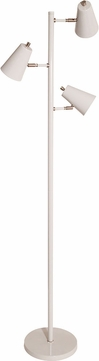 House of Troy K130-GR Kirby Contemporary Gray LED Floor Lamp Light