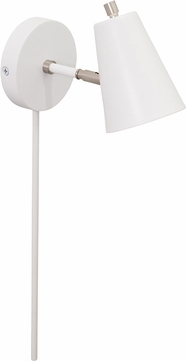 House of Troy K175-WT Kirby Modern White LED Wall Lighting