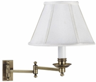 House of Troy LL660AB LL660 Decorative Swing Arm Wall Lamp in Antique Brass