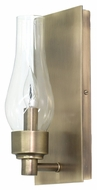 House of Troy LS201-AB Lake Shore Antique Brass Finish 9 Tall Light Sconce