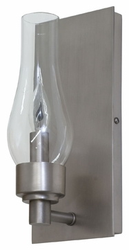 House of Troy LS201-SP Lake Shore Satin Pewter Finish 9 Tall Lamp Sconce