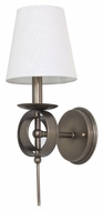 House of Troy LS202-AB Lake Shore Antique Brass Finish 6 Wide Wall Sconce Lighting