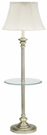 House of Troy N602AB 602 Newport Collection Floor Lamp with Table in Antique Brass